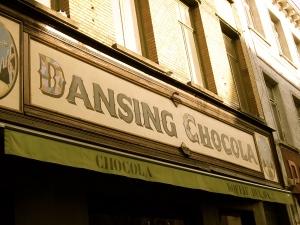 Dansing chocola